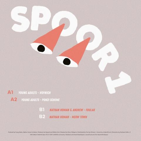 """( SPOOR 1 ) VARIOUS ARTISTS - Spoor 1 ( 12"""" vinyl ) Nieuw Hollands Spoor"""